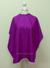 Cape for a hairdressing salon
