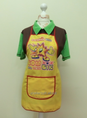 Apron of the seller 3