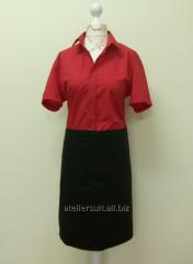 Uniform of the waiter