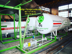 Газовый модуль- Стационарный заправщиук газом