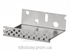 The socle aluminum shape with a beak of 100 mm 2,5