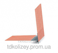 Angular plastic profile with a kapelnik of 2,5 m