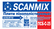Scanmix PSB-S-25 polyfoam of 1000х500х100 mm Kiev