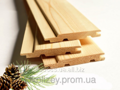 Lining a pine dry length is 2,5 m without kn