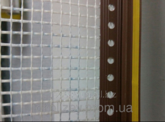 The profile window adjoining, 6 mm, with a grid,