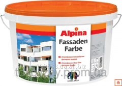 Alpina Fassadenfarbe weatherproof front paint of
