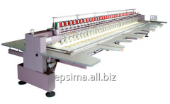 Plane ZSK embroidery machines
