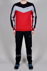 Спортивный костюм Nike черно-красный