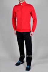 Спортивный костюм Puma Ferrari красно-черный