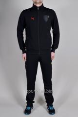 Костюм спортивный Puma Ferrari  черный