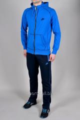 Спортивный костюм Nike мастерка голубая штаны синие
