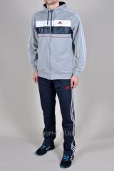 Спортивный костюм Adidas темно-серый