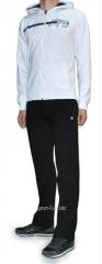 Спортивный костюм MXC мастерка белая штаны черные