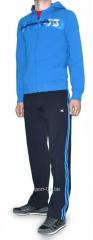 Спортивный костюм MXC синий с серыми штанами