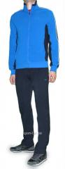 Спортивный костюм MXC мастерка синяя брюки черные