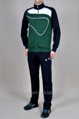 Спортивный костюм MXC серый с зеленым