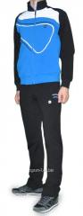 Спортивный костюм MXC черно-голубой