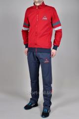 Спортивный костюм MXC серо-красный