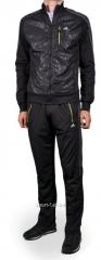 Спортивный костюм Adidas черный мужской трикотаж