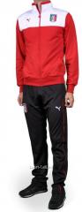 Спортивный костюм Puma Italia красно-черный