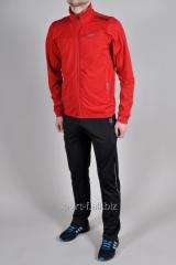 Спортивный костюм Adidas Porsche Design мужской штаны черный мастерка красная
