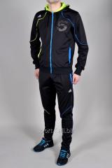 Спортивный костюм Adidas черный на молнии