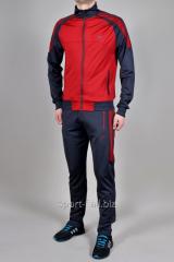 Спортивный костюм мужской  MXC серый с красным