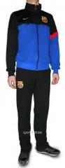 Спортивный костюм Nike FC Barselona черный с синим
