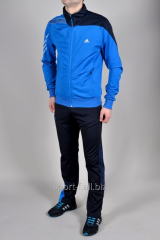Спортивный костюм Adidas синий мужской F50