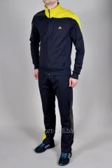 Спортивный костюм  мужской Adidas  F50 черный с желтым