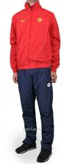 Спортивный костюм Nike T 90 красно-черный