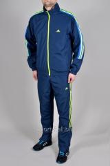 Спортивный костюм Adidas синий мужской