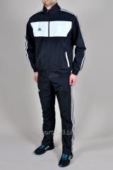 Спортивный костюм Adidas 11 pro черный с белым
