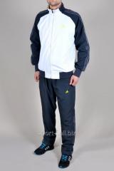 Спортивный костюм Adidas  серые штаны мастерка серо-белая