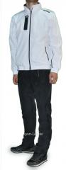 Спортивный костюм Adidas Porsche Design штаны черные мастерка белая