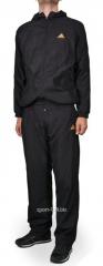Спортивный костюм Adidas мужской  черный с логотипом