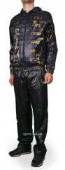 Спортивный костюм мужской черный Adidas