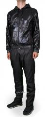 Спортивный костюм Nike черный с капюшоном