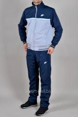 Зимний спортивный костюм Nike синий с серым
