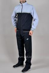 Зимний спортивный костюм Nike черный с серым