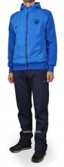 Зимний спортивный костюм Nike синий с голубой мастеркой