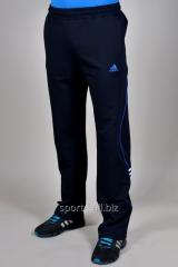 Брюки спортивные Adidas темно-синий