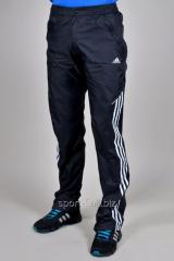 Брюки спортивные Adidas летние черные