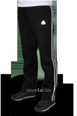 Зимние спортивные брюки Adidas с белыми полосами