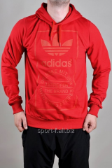 Балахон Adidas красный