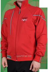 Мастерка Nike Jordan красная мужская