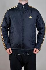 Ветровка черная мужская Adidas