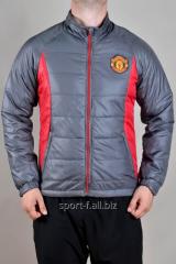 Ветровка Manchester United серая с красным