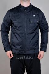 Ветровка  черная с карманами Adidas