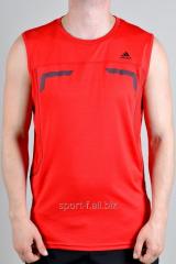 Безрукавка Adidas оранжевая